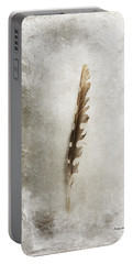 Standing Feather Portable Battery Charger