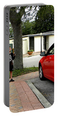 Portable Battery Charger featuring the photograph Standing Guard  by Chris Mercer