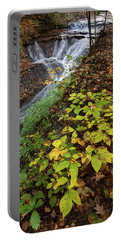 Portable Battery Charger featuring the photograph Standing On The Edge by Dale Kincaid