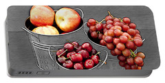 Portable Battery Charger featuring the photograph Standing Out As Fruit by Sherry Hallemeier