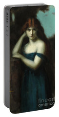 Standing Woman Portable Battery Charger