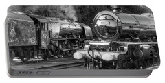Stanier Pacifics At Swanwick Portable Battery Charger