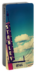 Portable Battery Charger featuring the photograph Stanley by Trish Mistric