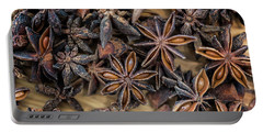 Star Anise Portable Battery Charger by Sabine Edrissi