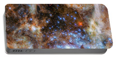 Portable Battery Charger featuring the photograph Star Cluster R136 by Marco Oliveira