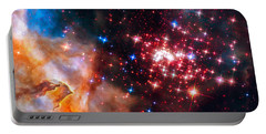 Portable Battery Charger featuring the photograph Star Cluster Westerlund 2 Space Image by Matthias Hauser