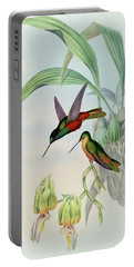 Star Fronted Hummingbird Portable Battery Charger by John Gould