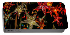 Portable Battery Charger featuring the photograph Star Lights by Lora Lee Chapman