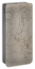 Star Maiden Portable Battery Charger by Donelli  DiMaria