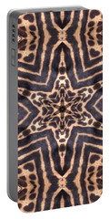 Star Of Cheetah Portable Battery Charger by Maria Watt