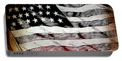 Star Spangled Banner Portable Battery Charger by Angelina Vick