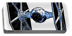 Star Wars Tie Fighter Portable Battery Charger by Edward Fielding