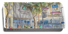 Starbucks Coffee In San Fernando Rd And Palms, Burbank, California Portable Battery Charger