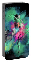 Stardust Dancer Portable Battery Charger