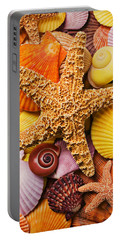 Starfish And Seashells  Portable Battery Charger