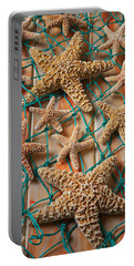 Starfish In Net Portable Battery Charger