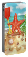 Starfish Makes A Sandcastle Portable Battery Charger