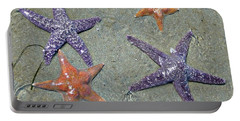 Portable Battery Charger featuring the photograph Starfish Party by 'REA' Gallery