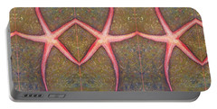 Starfish Pattern Bar Portable Battery Charger