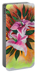 Stargazers Portable Battery Charger by J R Seymour