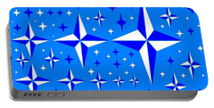Starlight 9 Portable Battery Charger by Linda Velasquez