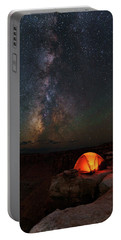 Starlight Camping On The Canyon Edge Portable Battery Charger