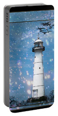 Starlight Lighthouse Portable Battery Charger