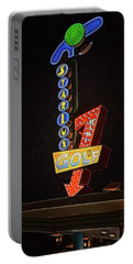 Portable Battery Charger featuring the photograph Starlux Miniature Golf by Kristia Adams