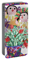 Starring The Christmas Cactus Portable Battery Charger