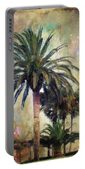 Starry Evening In St. Augustine Portable Battery Charger
