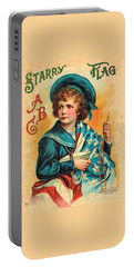 Starry Flag Cover Abc Book Portable Battery Charger
