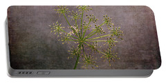 Portable Battery Charger featuring the photograph Starry Flower by Randi Grace Nilsberg