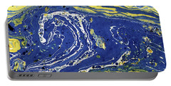 Starry Night Abstract Portable Battery Charger