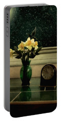 Starry Night In Spring Portable Battery Charger