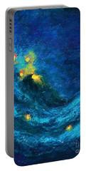 Starry Night Nebula  Portable Battery Charger