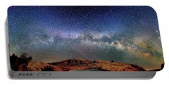 Starry Night Over Mesa Arch Portable Battery Charger