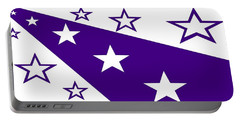 'stars 21' Or 'purple Stars' Portable Battery Charger