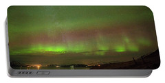 Stars And Northern Lights Portable Battery Charger