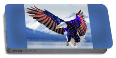 Stars And Stripes Forever Portable Battery Charger
