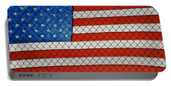 Stars And Stripes  Portable Battery Charger
