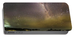 Portable Battery Charger featuring the photograph stary night in Broken beach by Pradeep Raja Prints