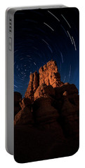 Stary Trails At Red Canyon Portable Battery Charger