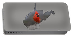 State Bird Of West Virginia Portable Battery Charger