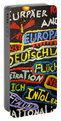 State Of Europe Portable Battery Charger by Darrell Black