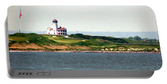 Staten Island Portable Battery Charger by Judi Saunders