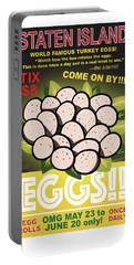 Staten Islands Eggs Portable Battery Charger