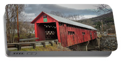 Station Covered Bridge Portable Battery Charger