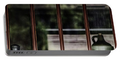 Portable Battery Charger featuring the photograph Station Window by Brad Allen Fine Art