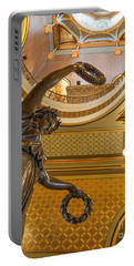 Statue Of Genius Vertical Portable Battery Charger