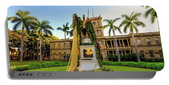 Statue Of, King Kamehameha The Great Portable Battery Charger